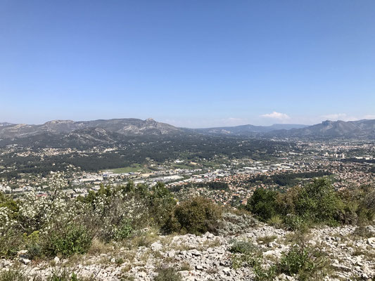 Magnifique vue sur la Penne-sur-Huveaune