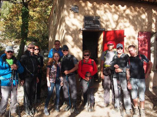 Tout le monde au refuge de Baudino