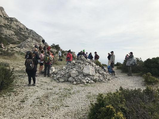 Le regroupement se fait au sommet