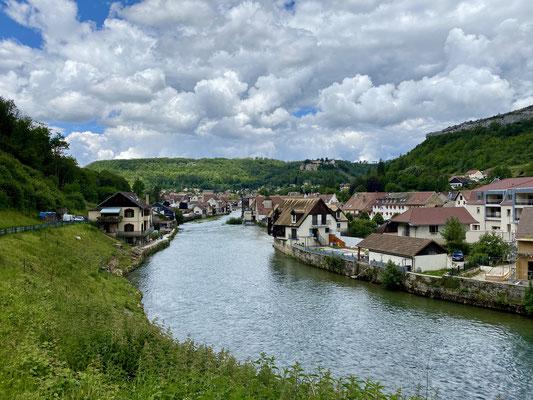 Ornans en Franche-Comté