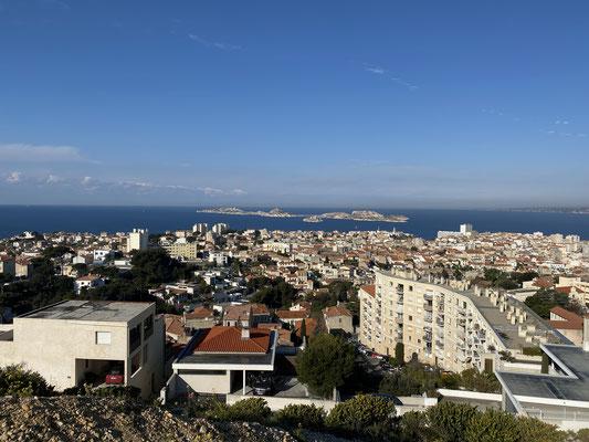 Vue sur Marseille de Notre-Dame
