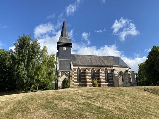 L'église de Tertry