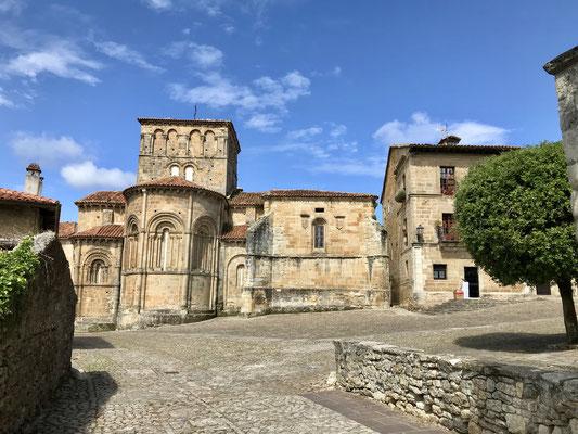 Très beau village touristique de Santillana Del Mar.