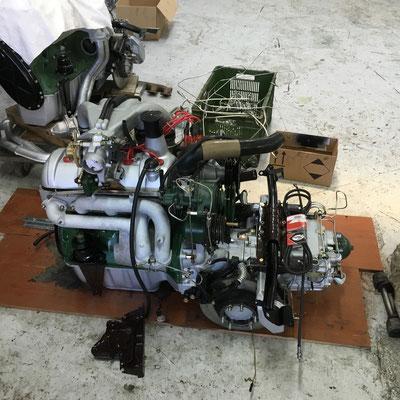 Le moteur neuf, sacrée différence