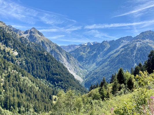 Paysage majestueux de Savoie