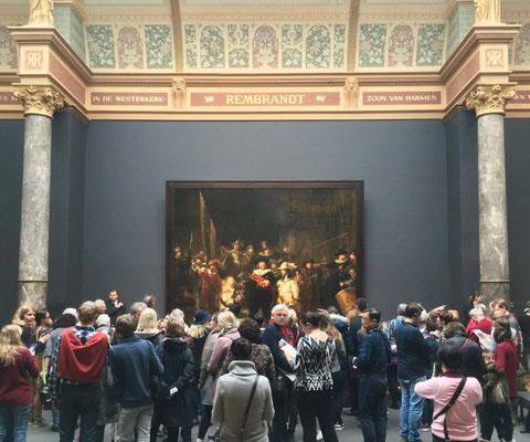 Die berühmte Nachtwache von Rembrandt