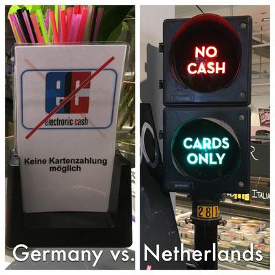 Unterschied Deutschland und Holland. Wir werden so ewig brauchen bis wir dort ankommen