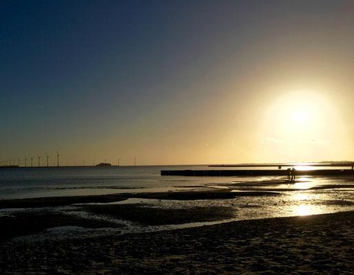 Sonnenuntergang am IJsselmeer
