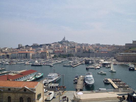 Der Hafen von Marseille