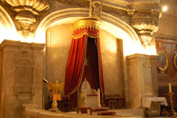 Hier hat sogar mal ein Papst gelebt