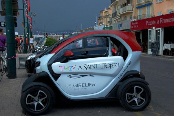 Ideales Fahrzeug für die kleinen Straßen