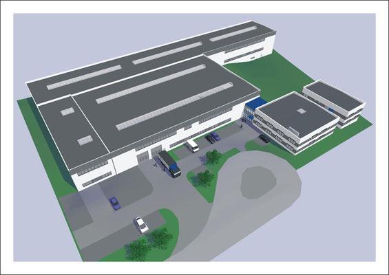 Gewerbebauten - Anlagenbau Umwelt & Technik