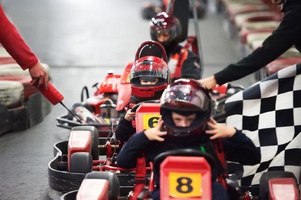 carrera de kart Tarifa (Cadiz)