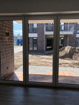 Kristall-Reinigungsservice Baureinigung Terrassenfenster
