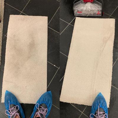 TKristall-Reinigungsservice Teppichreinigung Beispiel