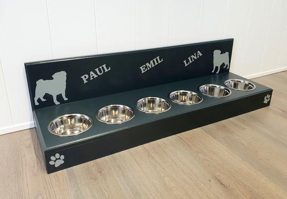 Hunde Futterstation