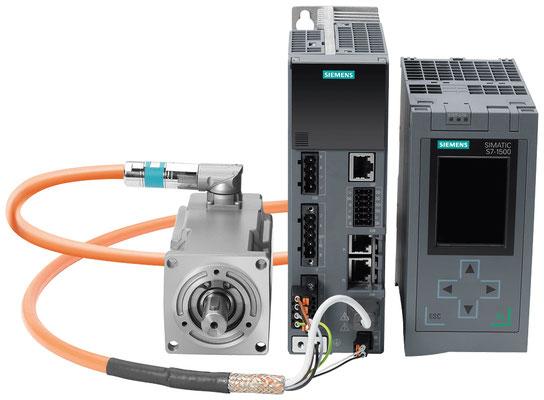 SINAMICS S210, 1AC 230V, FSB mit SIMOTICS S-1FK2-Motor, AH 30, SIMATIC S7-1500 © Siemens AG 2020, Alle Rechte vorbehalten