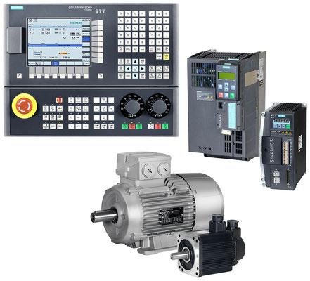 SINUMERIK 808D Turning, SINAMICS G120/V60 mit SIMOTICS 1LE1/1FL5 © Siemens AG 2020, Alle Rechte vorbehalten