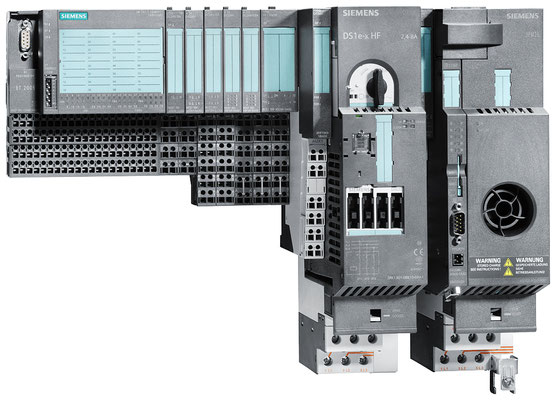 ET 200S station with IM 151-1 COMPACT, motor starter and frequency converter © Siemens AG 2020, All rights reserved