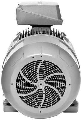 Niederspannungsmotor 1LE15 Rückansicht © Siemens AG 2020, Alle Rechte vorbehalten