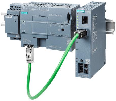 SIMATIC RTU3010C mit SCALANCE M812-1 und LOGO!Power © Siemens AG 2019, Alle Rechte vorbehalten