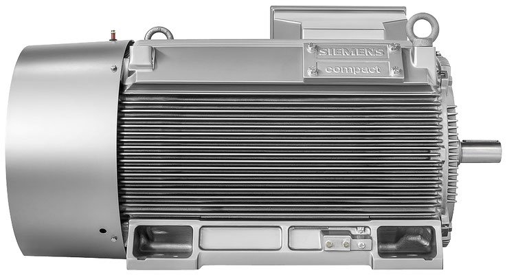SIMOTICS TN Serie N-compact - links © Siemens AG 2019, Alle Rechte vorbehalten