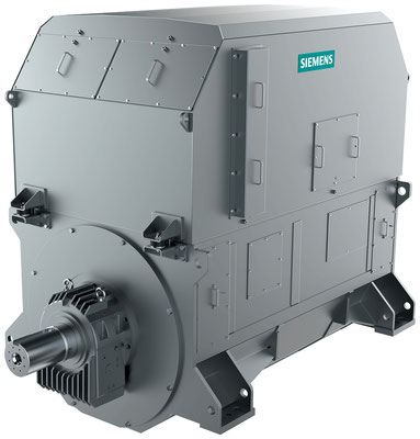 Generator SIGENTICS M mit Wasserkühlung (Winkel 2) © Siemens AG 2020, Alle Rechte vorbehalten