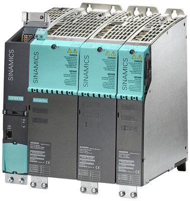 SINAMICS S120-Antriebsverband, Bauform Booksize Compact mit CU320-2 DP, Line Module und Motor Modules © Siemens AG 2019, Alle Rechte vorbehalten