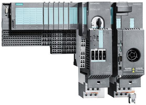ET 200S-Station mit IM 151-1 compact, Motorstarter und Frequenzumrichter © Siemens AG 2019, Alle Rechte vorbehalten