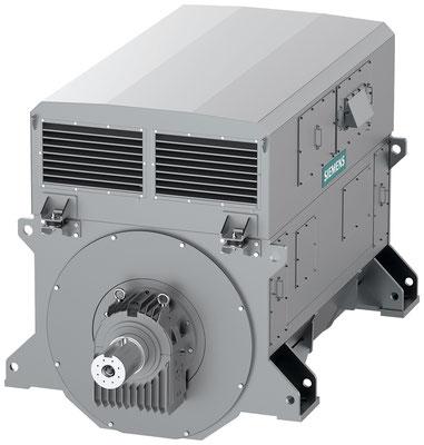 Generator SIGENTICS M mit Luftkühlung (Winkel 1) © Siemens AG 2020, Alle Rechte vorbehalten