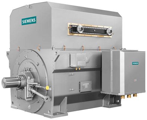 SIMOTICS HV M, schräg © Siemens AG 2019, Alle Rechte vorbehalten
