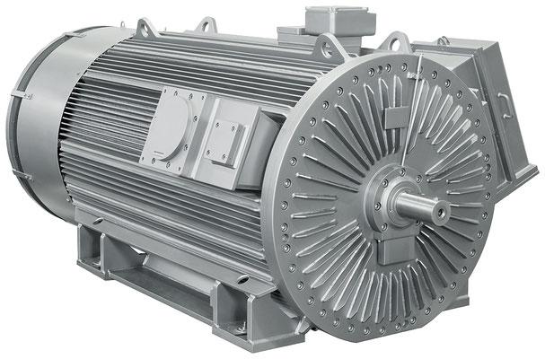 Explosionsgeschützter Loher Vario Motor © Siemens AG 2020, Alle Rechte vorbehalten