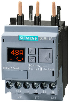 SIRIUS 3RR24 monitoring relay for current monitoring for IO-Link (S00/screw-type connection) © Siemens AG 2020, All rights reserved