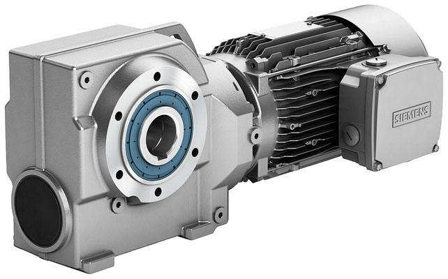 Stirnradschneckengetriebemotor © Siemens AG 2019, All rights reserved