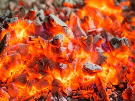 Fossile Kohle als Brennstoff