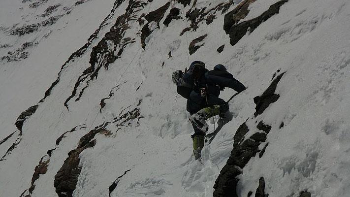 Ralf im Aufstieg auf ca. 7500m