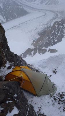 1. Lagerplatz auf 5850m (c) D. Göttler