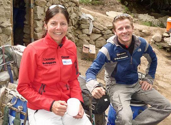 David und Gerlinde in Paiju