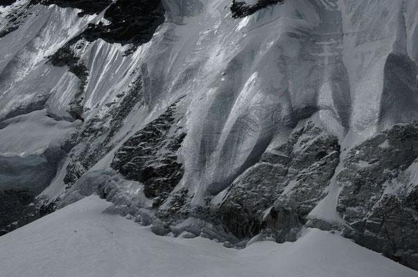 Bergschrund Everest Nordwand