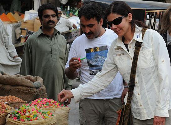 Im Bazar von Rawalpindi