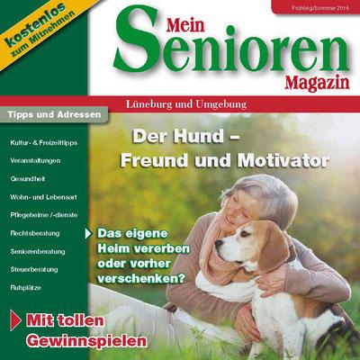 Lüneburg Mein Senioren Magazin Nr. 08