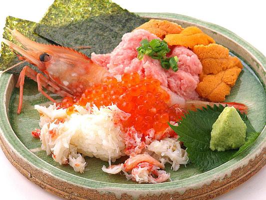 北海 こぼれ寿司