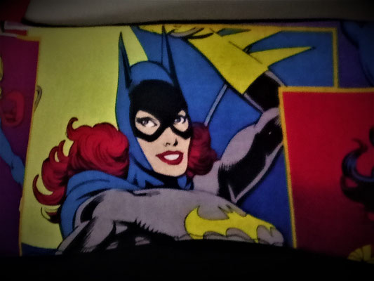 Tablier de cuisine noir Batgirl