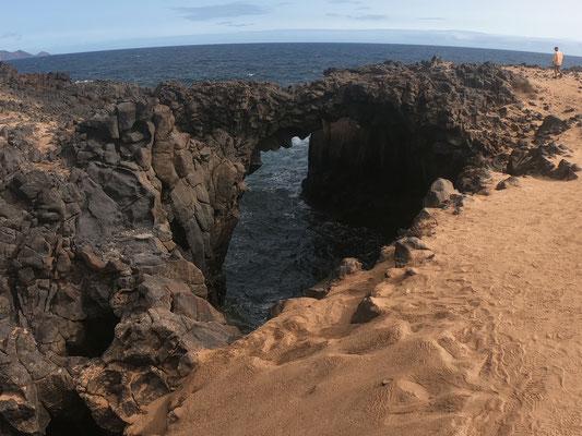 Auf einer Geländewagentour haben wir die komplette Insel in 90 Minuten im Schnelldurchgang erkundigt ...