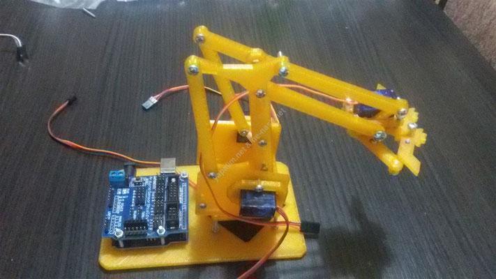 arduino ile robot kol nasıl yapılır