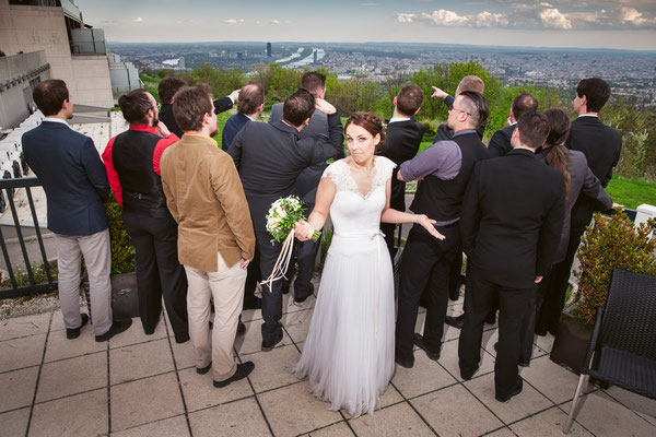 Wo ist die Braut?