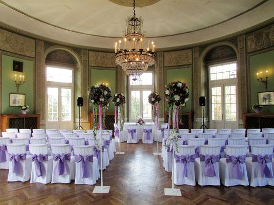Trauung im Jagdsaal - © Lusthaus Wien