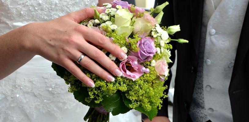 Elegante und prunkvolle Hochzeit