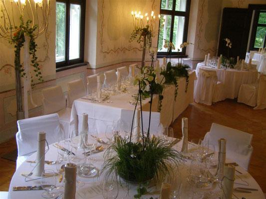 Oktagon Hochzeitstafel