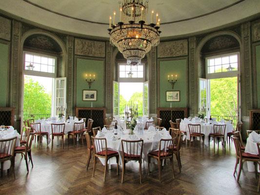 1. Stock - Für Menü eingedeckt - © Lusthaus Wien